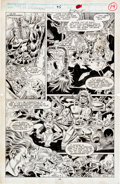 Original Comic Art:Panel Pages, Alex Saviuk and Josef Rubinstein Web of Spider-Man #95 page14 Original Art (Marvel, 1992)....