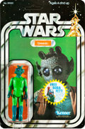 "Movie Posters:Science Fiction, Star Wars (Kenner, 1978). Action Figure (1.5"" X 3.75) on Unpunched Card (6"" X 9"") ""Greedo."". ..."