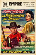 """Movie Posters:Western, The Searchers (Warner Brothers, 1956). Belgian (14.5"""" X 21.75"""").. ..."""