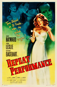"Repeat Performance (Eagle Lion, 1947). One Sheet (27"" X 41"")"