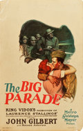 """Movie Posters:War, The Big Parade (MGM, 1925). Window Card (14"""" X 22"""").. ..."""