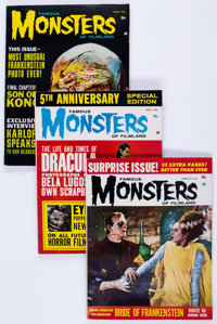 Famous Monsters of Filmland #21-37 Group (Warren, 1963-66) Condition: Average VG/FN.... (Total: 20 Box Lots)