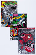 Modern Age (1980-Present):Superhero, Spider-Man Group of 73 (Marvel, 1990-92) Condition: Average NM-....(Total: 72 Comic Books)