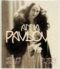 Books:Biography & Memoir, [Ballet]. Keith Money. Anna Pavlova: Her Life and Art. NewYork: Alfred A. Knopf, 1982. . ...