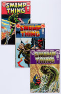 Bronze Age (1970-1979):Horror, Swamp Thing Group (DC, 1972-75) Condition: Average FN-.... (Total:17 Comic Books)