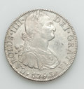 Mexico, Mexico: Charles IV Quartet of 8 Reales 1793 1794 1795 1804,...(Total: 4 coins)