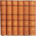 Books:Literature Pre-1900, Elizabeth Barrett Browning. The Poetical Works of ElizabethBarrett Browning in Six Volumes. London: Smith, Elde... (Total:6 Items)
