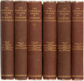 Books:Literature Pre-1900, Robert Browning. The Poetical Works of Robert Browning.London: Smith, Elder and Co., 1868.... (Total: 6 Items)