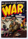 Golden Age (1938-1955):War, War Comics #8 (Atlas, 1952) Condition: GD/VG....