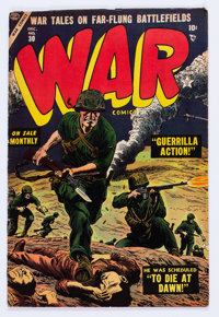 War Comics #30 (Atlas, 1954) Condition: FN+
