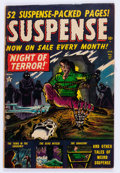 Golden Age (1938-1955):Horror, Suspense #17 (Atlas, 1952) Condition: VG/FN....