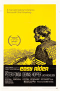 """Movie Posters:Drama, Easy Rider (Columbia, 1969). One Sheets (2) (27"""" X 41"""") Style A andStyle C.. ... (Total: 2 Items)"""