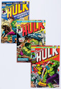 Bronze Age (1970-1979):Superhero, The Incredible Hulk #180-182 Group (Marvel, 1974).... (Total: 3Comic Books)