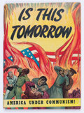 Golden Age (1938-1955):Religious, Is This Tomorrow #1 (Catechetical Guild, 1947) Condition: ApparentVG....