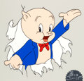 Animation Art:Limited Edition Cel, Bob Clampett Classic Porky Pig Limited Edition Cel #125/250(Warner Brothers, 1986)....