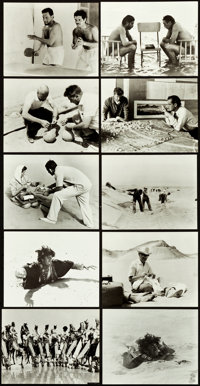 """Lawrence of Arabia (Columbia, 1962). Photos (70) (7.5"""" X 9.5""""). ... (Total: 70 Items)"""