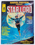Magazines:Science-Fiction, Marvel Preview #4 Star-Lord (Marvel, 1976) Condition: FN+....
