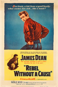 """Rebel without a Cause (Warner Brothers, 1955). Poster (40"""" X 60"""") Style Z"""