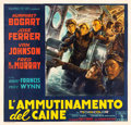 "Movie Posters:War, The Caine Mutiny (Columbia, 1954). Italian 6-Foglio (78"" X 81"")....."