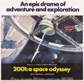 "Movie Posters:Science Fiction, 2001: A Space Odyssey (MGM, 1968). Six Sheet (77.25"" X 80.25"")....."