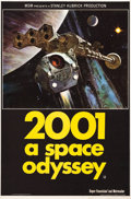 "Movie Posters:Science Fiction, 2001: A Space Odyssey (MGM, 1968). British Double Crown (20"" X30"").. ..."