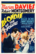 "Movie Posters:Comedy, Blondie of the Follies (MGM, 1932). One Sheet (27"" X 41"") Style D....."