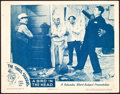 """Movie Posters:Comedy, The Three Stooges in A Bird in the Head (Columbia, 1946). LobbyCard (11"""" X 14"""").. ..."""