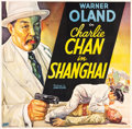 "Movie Posters:Mystery, Charlie Chan in Shanghai (Fox, 1935). Six Sheet (81"" X 78.5"").. ..."