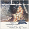 "Movie Posters:Science Fiction, Star Wars (20th Century Fox, 1977). International Six Sheet (81"" X81"").. ..."