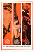 "Movie Posters:Western, A Fistful of Dollars (United Artists, 1967). One Sheet (27"" X 41"")Advance Style B.. ..."