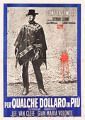 "Movie Posters:Western, For a Few Dollars More (PEA, 1965). Italian 4 - Foglio (55"" X 78"")Style B.. ..."