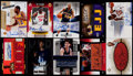 Basketball Cards:Lots, 1998-2007 Basketball 1980's Stars & HoFers Autograph CardCollection (10)....