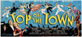 "Movie Posters:Musical, Top of the Town (Universal, 1937). 24 Sheet (104"" X 232"").. ..."