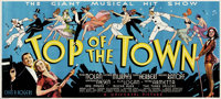"Top of the Town (Universal, 1937). 24 Sheet (104"" X 232"")"