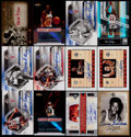 Basketball Cards:Lots, 2001-07 Basketball Stars & HoFers Autograph Card Collection(12)....