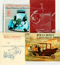Books:Reference & Bibliography, [Automobiles, Rolls-Royce]. Group of Four Books. Various publishersand dates. . ... (Total: 4 Items)