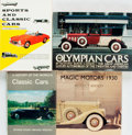 Books:Reference & Bibliography, [Automobiles]. Group of Four Books. Various publishers and dates. .... (Total: 4 Items)