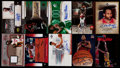 Basketball Cards:Lots, 1995-2007 Basketball Stars & HoFers Autograph & Jersey CardCollection (10)....