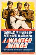 "Movie Posters:War, I Wanted Wings (Paramount, 1941). One Sheet (27.5"" X 41"") Style B....."