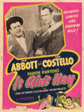 """Movie Posters:Comedy, It Ain't Hay (Universal, 1943). Silkscreen Poster (30"""" X 40"""").Comedy.. ..."""