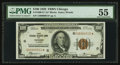 Fr. 1890-G* $100 1929 Federal Reserve Bank Note. PMG About Uncirculated 55