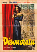 "Movie Posters:Drama, Dishonored Lady (ENIC, 1948). Italian 4-Foglio (55"" X 78"").. ..."