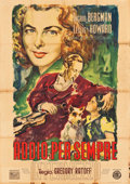 "Movie Posters:Romance, Intermezzo (ENIC, 1947). First Post-War Release Italian 4 - Foglio (55"" X 78""). Romance.. ..."