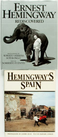 Books:Biography & Memoir, Ernest Hemingway, subject. Pair of Titles, One of Which isINSCRIBED. Various publishers and dates.... (Total: 2 Items)