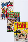 Golden Age (1938-1955):Adventure, Famous Funnies Publications File Copies Group of 11 (Famous Funnies Publications, 1948-53) Condition: Average VF/NM.... (Total: 11 Comic Books)