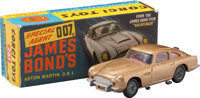 "Goldfinger - Corgi 261 James Bond Aston Martin Toy (1965). Die-Cast Model Car in Original Packaging (5"" X 1.75""..."