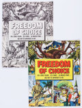 Golden Age (1938-1955):Non-Fiction, Freedom of Choice #nn File Copies Group of 6 (General Mills, 1952)Condition: Average NM-.... (Total: 6 Comic Books)