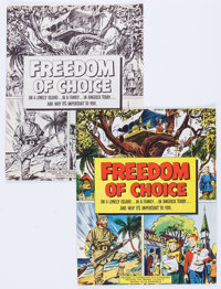Freedom of Choice #nn File Copies Group of 6 (General Mills, 1952) Condition: Average NM-.... (Total: 6 Comic Books)