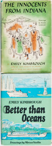 Books:Biography & Memoir, Emily Kimbrough. Pair of Titles. Various publishers and dates....(Total: 2 Items)