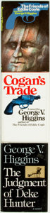 Books:Mystery & Detective Fiction, [Mystery & Detective Fiction]. George V. Higgins. Group ofThree Titles. Various publishers and dates.... (Total: 3 Items)